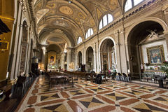 Bologna Church of San Benedetto Stock Photography