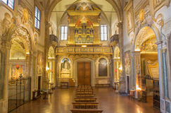 Bologna - church San Michele in Bosco. Royalty Free Stock Photography