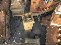 Bologna city centre stock images