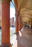 Bologna a city in Red color Royalty Free Stock Photography