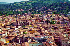 Bologna city view stock photography