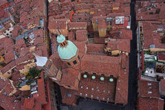 Bologna city view, Italy Royalty Free Stock Photos