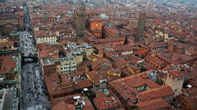 Bologna city view, Italy Royalty Free Stock Photo