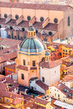 Bologna cityscape view Stock Images