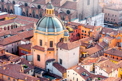 Bologna cityscape view Stock Photography