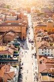 Bologna cityscape view Royalty Free Stock Photos