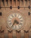 Bologna della torre di orologio Fotografia Stock Libera da Diritti