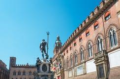 Bologna eine Stadt in der roten Farbe Stockfoto