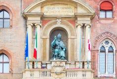 Bologna eine Stadt in der roten Farbe Lizenzfreie Stockbilder