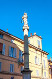 Bologna Emilia Romagna Italy. City europe street Stock Photos