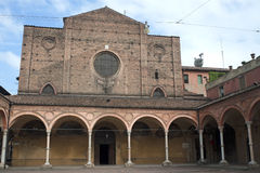 Bologna (Emilia-Romagna, Italy) - Historic church Stock Photos