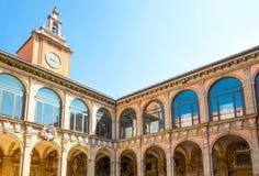 Bologna en stad i röd färg Royaltyfri Bild