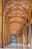 Bologna - External corridor  from Via Farini Stock Photos