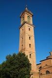 Bologna för medicina för San mamantecampanile Arkivbild