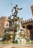 Bologna - Fontana di Nettuno or Neptune fountain Royalty Free Stock Image