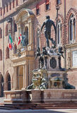 Bologna - Fontana di Nettuno or Neptune fountain on Piazza Maggiore Royalty Free Stock Image