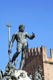 Bologna Fountain of Neptune Royalty Free Stock Images