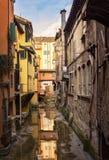 Bologna hidden canal Royalty Free Stock Image