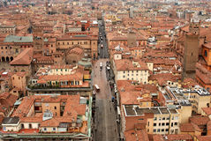 Bologna from on high Stock Photo