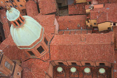 Bologna from on high royalty free stock photography