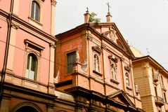 Bologna Italië stock foto