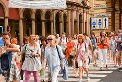 Bologna Italië royalty-vrije stock foto's