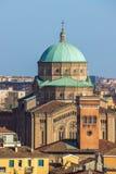 Bologna Italia di vista della chiesa Immagini Stock Libere da Diritti