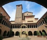 Bologna, Italie - basilique de Santo Stefano Images libres de droits