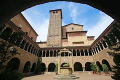 Bologna, Italie - basilique de Santo Stefano Photographie stock libre de droits