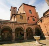 Bologna, Italie - basilique de Santo Stefano Photographie stock