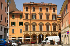 Bologna, Italie - paysage urbain, vieille place Photo stock