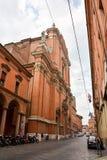 Bologna Italien Arkivfoto