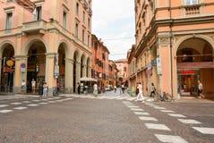 Bologna Italien Arkivfoton