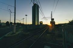 Bologna Italien Arkivbild