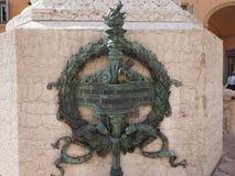 Luigi Galvani monument in Bologna Royalty Free Stock Image