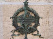 Luigi Galvani monument in Bologna Royalty Free Stock Photography