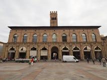 Palazzo del Podesta in Bologna Stock Image
