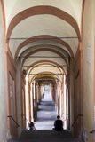 The porticoes of Bologna royalty free stock images