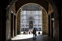 Bologna, Italy, people in piazza Maggiore, central square of the city. Bologna, Italy, people in piazza Maggiore, city central square royalty free stock photo