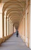 Bologna - Kenmerk porticoes royalty-vrije stock foto's