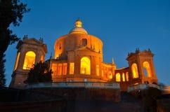 Bologna kyrka av San Luca 2 Arkivfoto