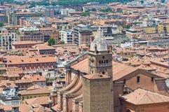 Bologna. L'Emilia Romagna. L'Italia. Fotografie Stock Libere da Diritti