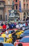 Bologna, Lamborghini anniversary 50th stock image