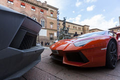 Bologna, Lamborghini anniversary 50th Royalty Free Stock Photography