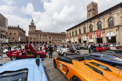 Bologna, Lamborghini anniversary 50th Stock Photos