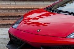 Bologna, Lamborghini anniversary 50th Royalty Free Stock Photo