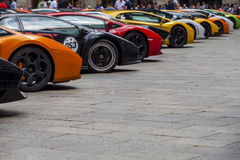Bologna, Lamborghini anniversary 50th Royalty Free Stock Photos