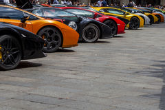 Bologna, Lamborghini anniversary 50th Royalty Free Stock Images