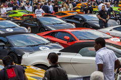 Bologna, Lamborghini anniversary 50th Stock Photos