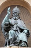 Pope Gregory XIII. Bologna landmark Pope Gregory XIII statue in Bologna, Italy Royalty Free Stock Images